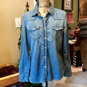 GAP 1969 Men's Denim shirt size L